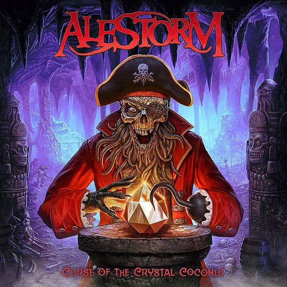 """Album art for """"Curse of the Crystal Coconut"""" by Alestorm"""
